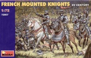 MT72007 French Mounted Knights
